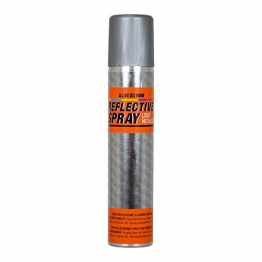 Albedo Reflektierendes Spray Light Metallic - 200 ml, Grau